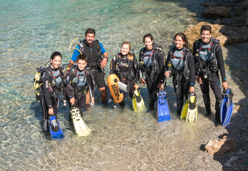 Try dive in Palma and Colonia de Sant Jordi