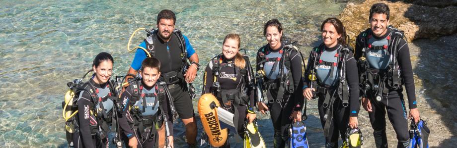 Bautismos de buceo en Palma y Colonia de Sant Jordi