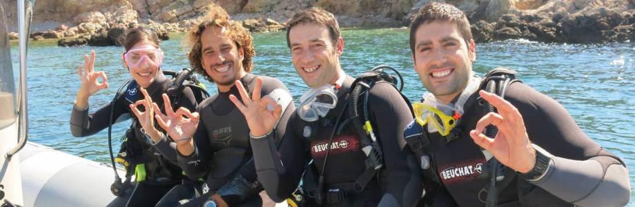 Cursos PADI de iniciación al buceo en Mallorca