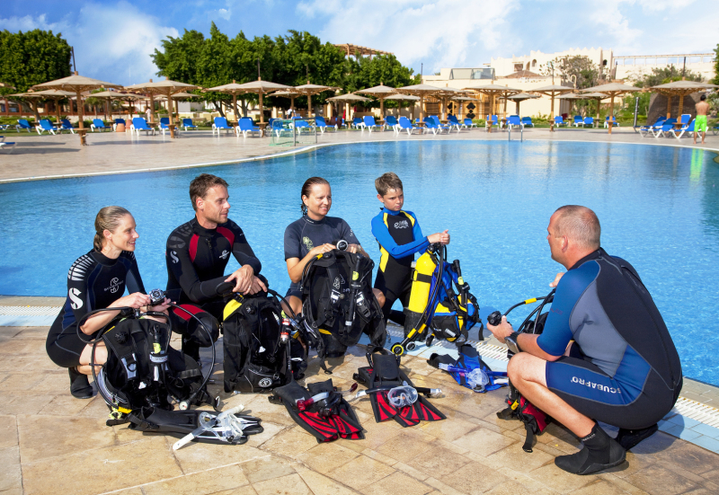 PADi diving courses for beginners in Mallorca