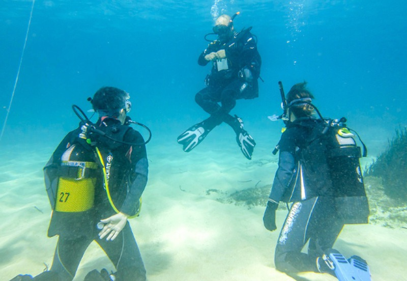 Diving courses in Palma, Colonia de Sant Jordi and Cabrera Marine Reserve