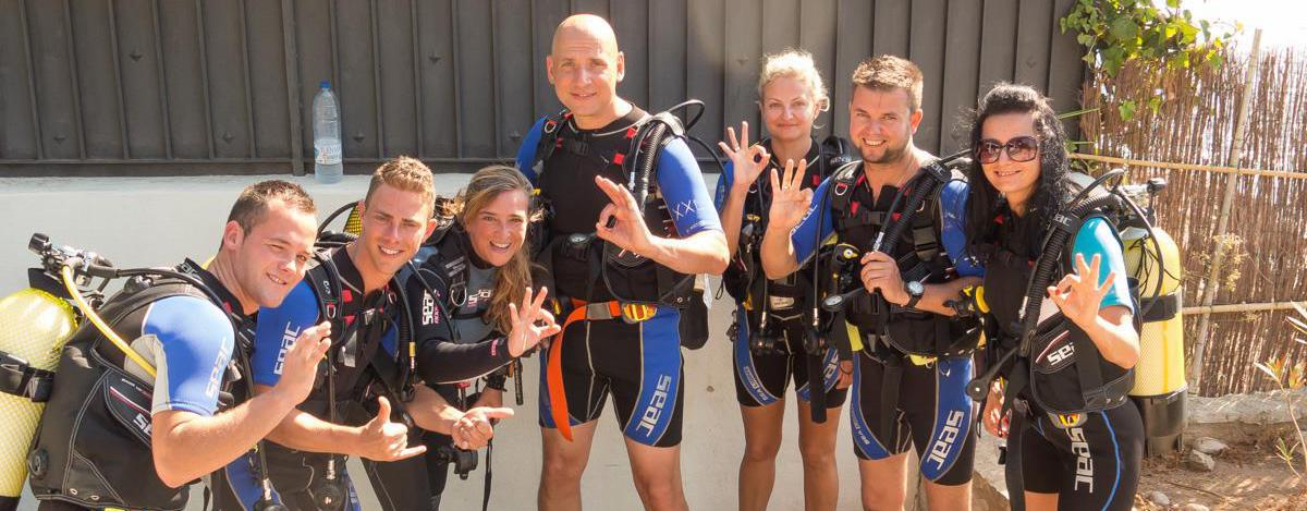 PADI Scube Diver course